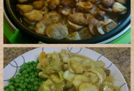 Chicken Hotpot cooked in Breville Halo