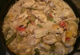 Creamy Peppercorn Chicken