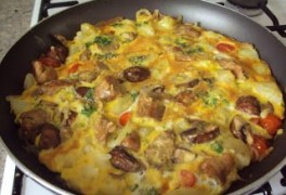 Quorn Brunch Fritata
