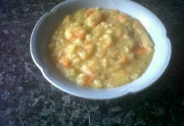 Pease pudding soup